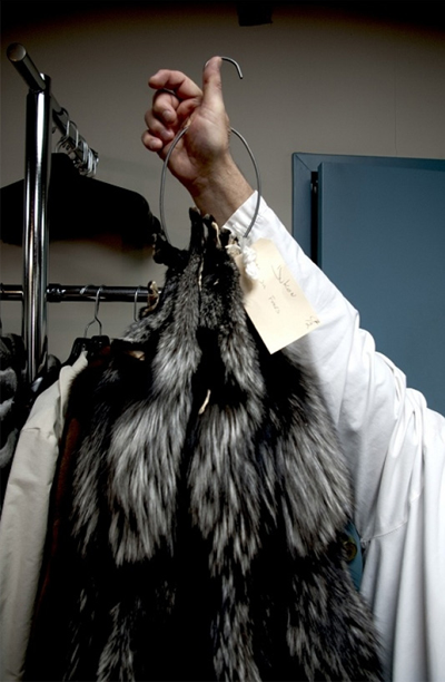 Yukon Fur Toronto coat sample