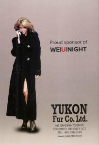 Proud Sponsor of We|U|Night - Yukon Fur