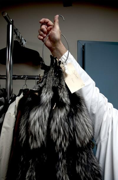 Yukon Fur Toronto coat sample