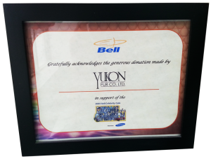 Yukon Fur supports the Bell Celebrity Gala