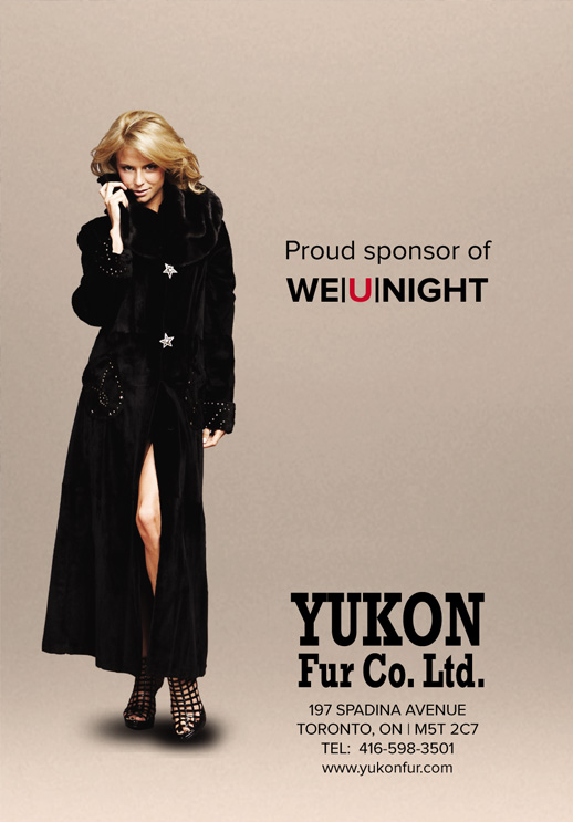 Yukon Fur is Proud Sponsor of We U NIGHT