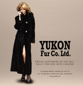 Yukon Fur is a Proud Supporter of Rally for Kids With Cancer