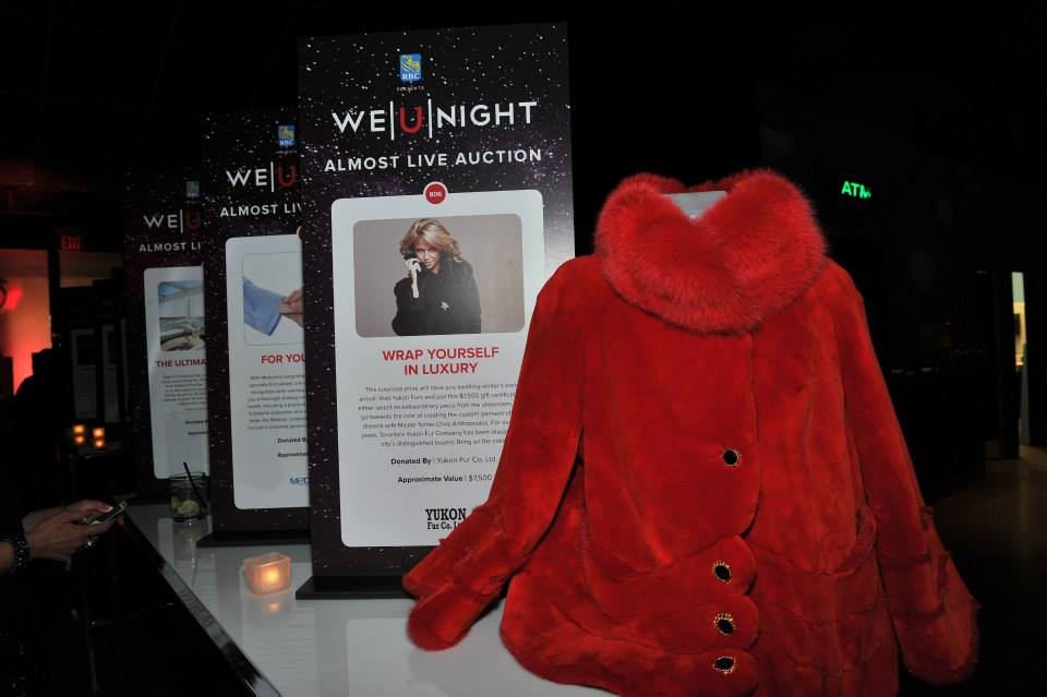 Yukon Fur at the Mirror Ball auction